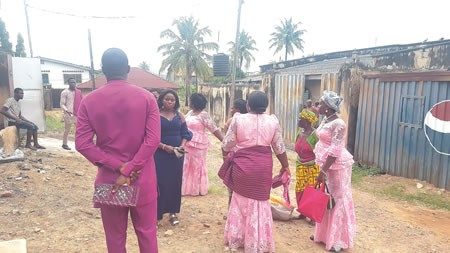 Photos: Drama as bride?s father cancels wedding on D-day in Ibadan