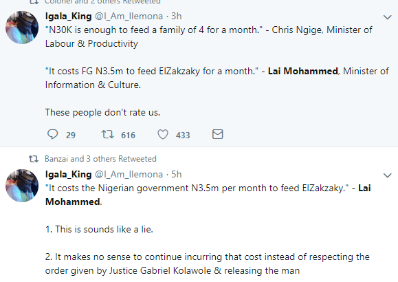 Here is how Nigerians are reacting to Lai Mohammed