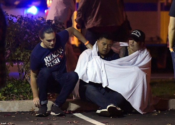 Update: 12 people confirmed dead after gunman opened fire at a country music bar in California before turning the gun on himself