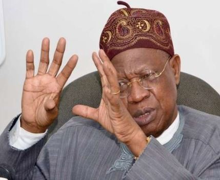 Reporters sanctioned for publishing video of Lai�Mohammed saying FG spends�over N3.5 million to feed El-Zakzaky