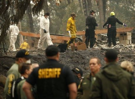 Death toll in California fire rises to 63 with over 600 people still missing
