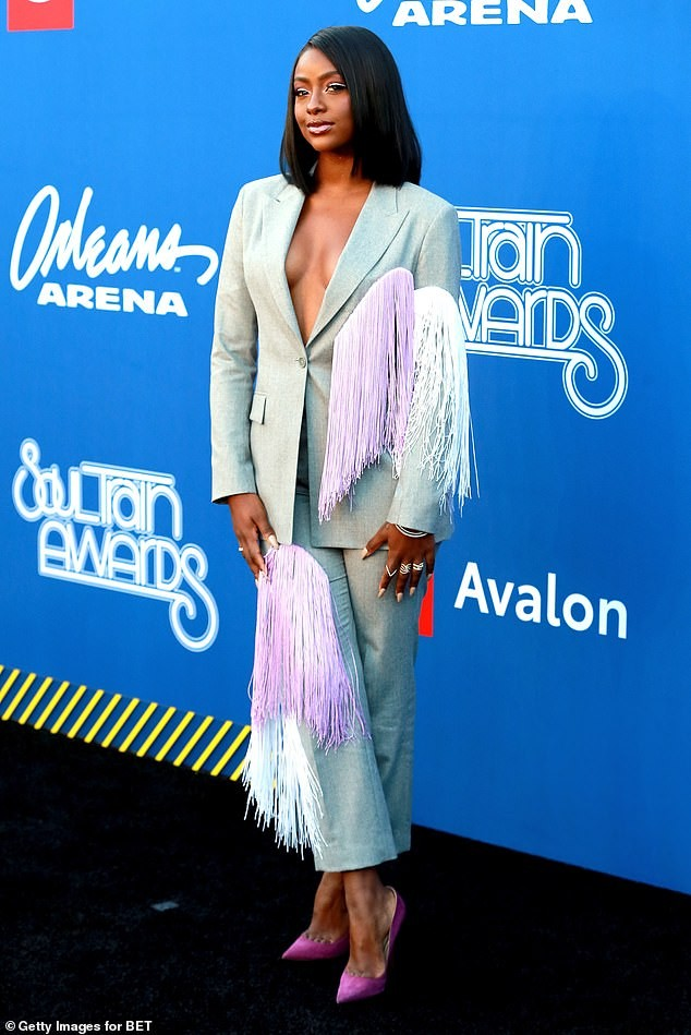Check out stunning red carpet photos from star-studded 2018 Soul Train Awards