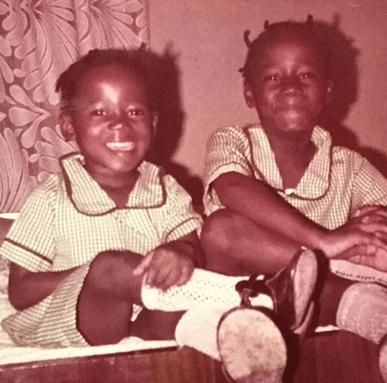 Funke Bucknor-Obruthe shares childhood photo of herself and her late sister, Tosyn Bucknor