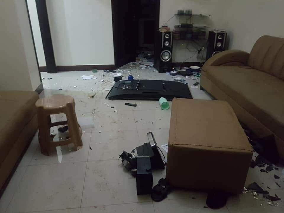 See how a Nigerian lady destroyed her boyfriend
