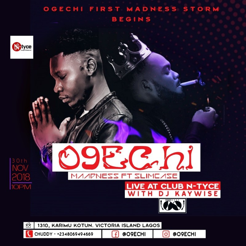 Artist O9echi ready to embark on his nation wide tour