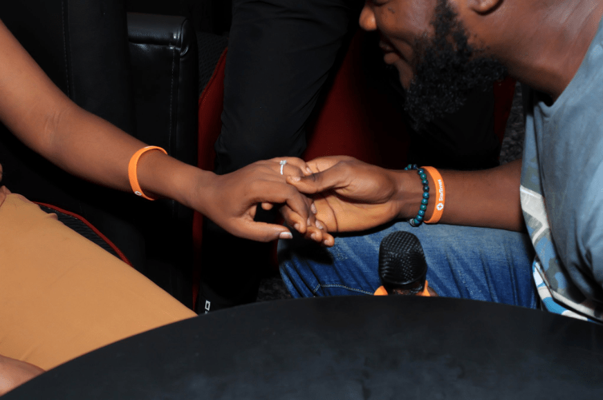 Man proposes to Twitter user who sent him airtime 9 months ago