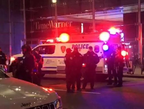 Again,?CNN offices in New York evacuated after bomb threat