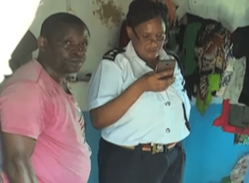 Father stabs his two daughters to death after luring them into the house with mangoes