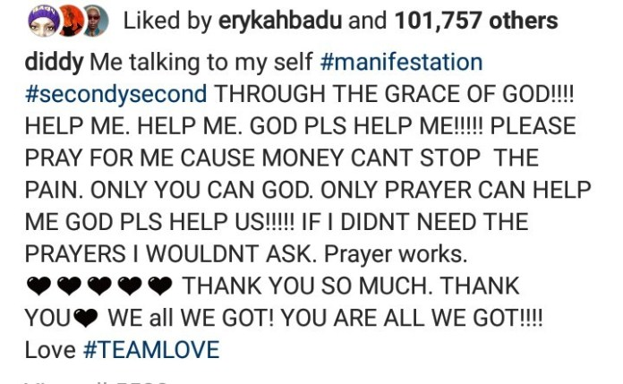 """""""Please pray for me because money can"""