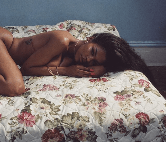 Teyana Taylor goes naked in new post-birthday photo