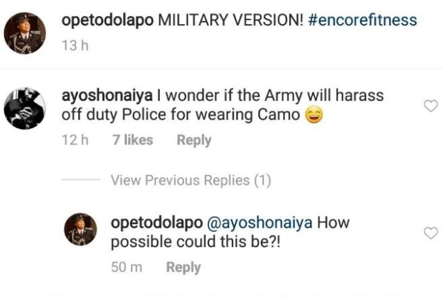 Can the Army harrass an off duty Police officer for rocking the Military outfit? - Nigerians ask Dolapo Badmos