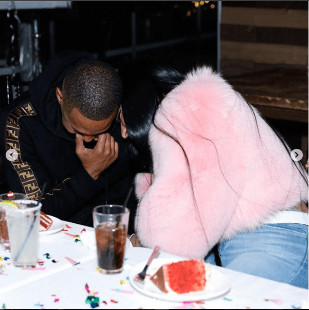 Nicki Minaj shares loved-up photos with her new boyfriend as she reveals he wants her to be his wife