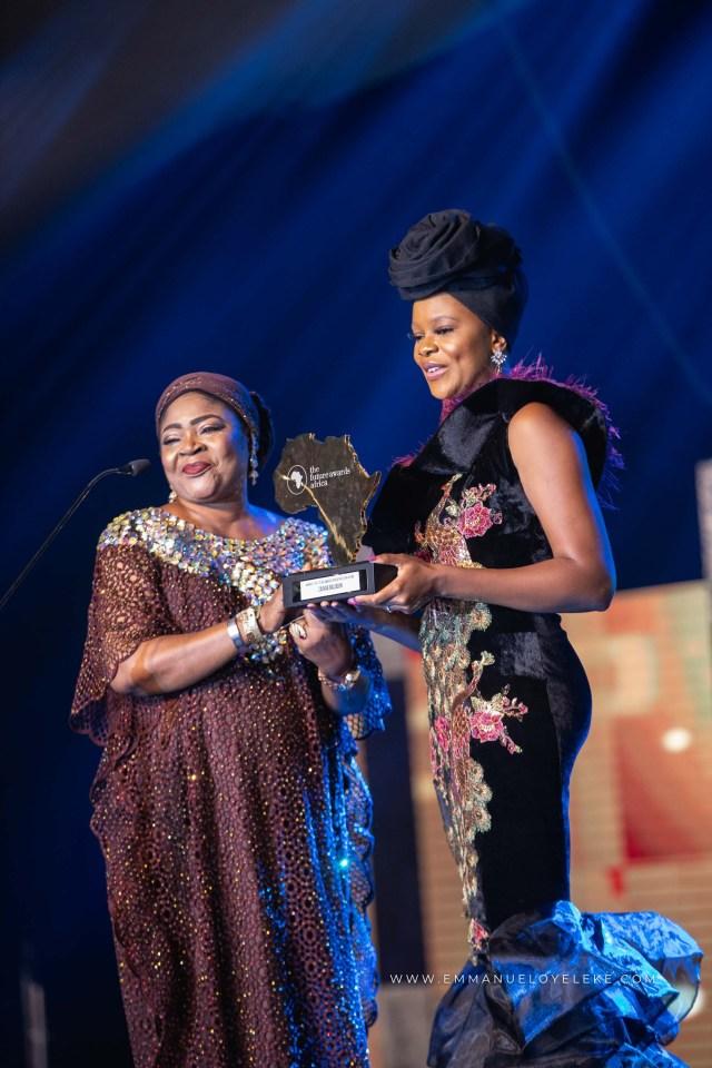 Photos: Mo Abudu,?Zainab Balogun, Alex Ekubo,?Mercy Johnson, others turn up for The Future Awards Africa 2018 black carpet