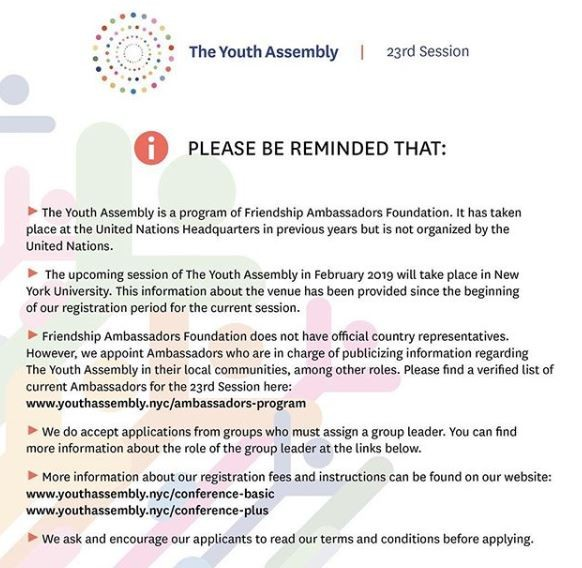 Like the UN, Youth Assembly also distances itself from Nigerian actor, Williams Uchemba over alleged fraud