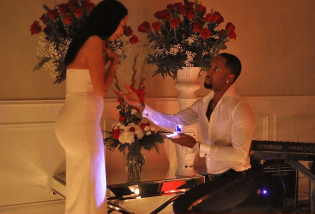 """Safaree proposed to Erica Mena on Christmas eve and she said """"Yes"""" (videos)"""