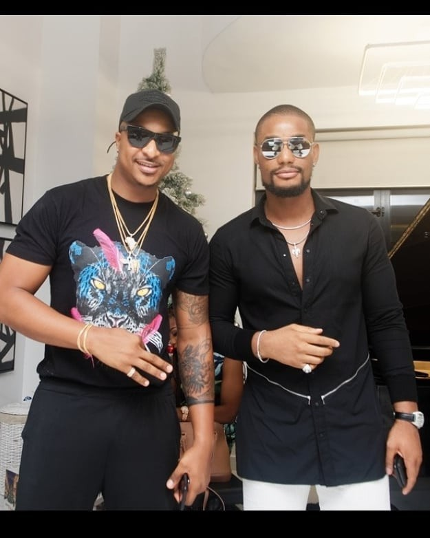 Photos: 2face Idibia and his family, Ramsey Noah and family, Paul Okoye and family, Mercy Johnson and hubby, others attend comedian AY