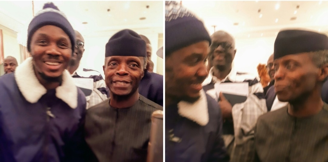 5c29bd369d136 Rising Afropop Star Mims Rosé meets Vice President of Nigeria Prof Yemi Osinbajo in Berlin   The Power that rules the world