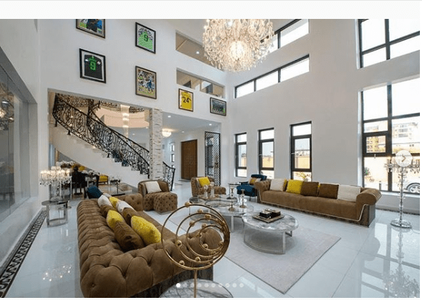 See the breathtaking interior at Odion Ighalo