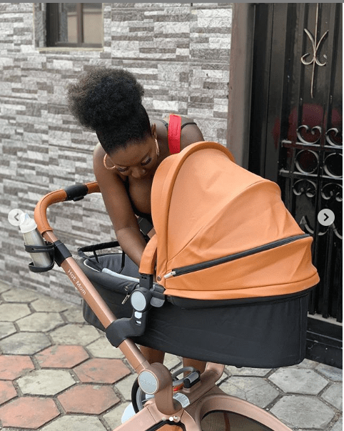 ?Actress Yvonne Jedege share photos of herself with her newborn son