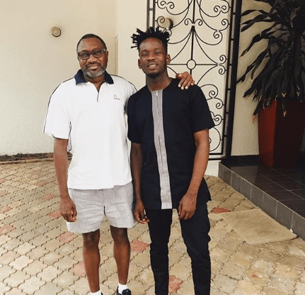 Mr Eazi reacts to speculations he is dating Temi Otedola because of her father