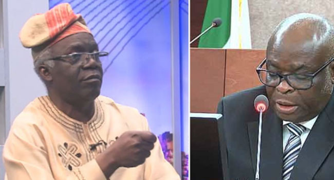 Onnoghen should resign honorably- Femi Falana