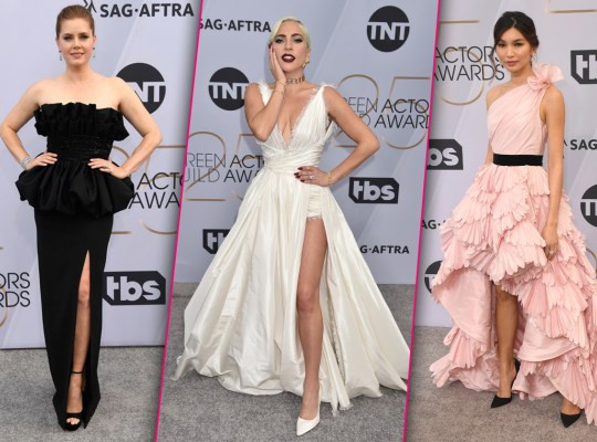 Stunning red carpet photos from the SAG Awards 2019