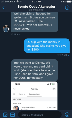 Drama as lady accuses Twitter slay king of owing her friend money and flaunting for the gram with her possessions