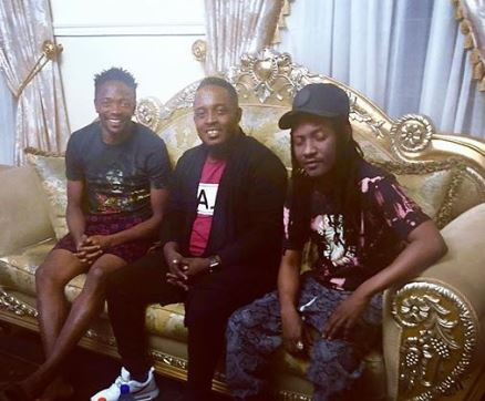 MI Abaga and Jesse Jagz?pay condolence visit to Ahmed Musa in Jos over the death of his mum (Photo)