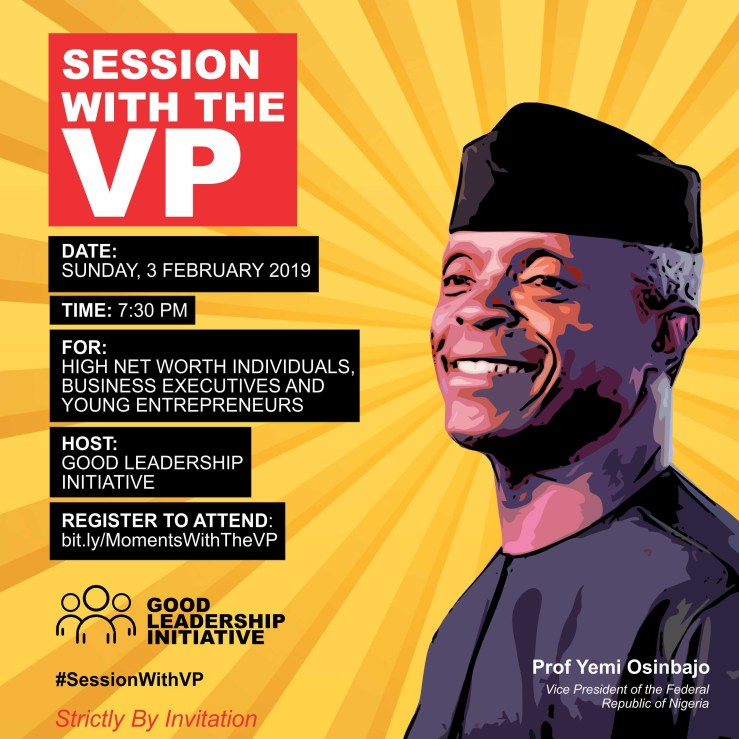 90Mins Interactive Session with VP at Lekki