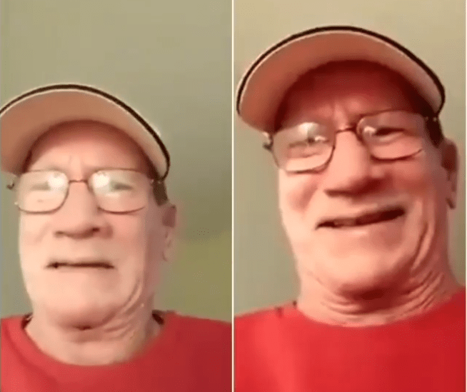 Sad! White man in tears as he begs a Yahoo Yahoo boy who defrauded him of his life savings to send it back (Video)