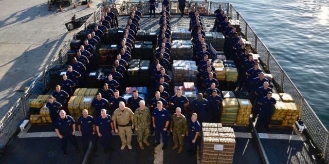 U.S. Coast Guard seizes 35,000 pounds of cocaine worth $466 million in Eastern Pacific Ocean (Photos)