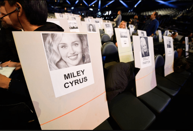 Grammys 2019 Seating Revealed - See who