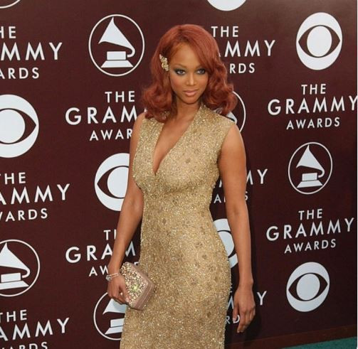 'What the hell was I thinking? - Tyra Banks says as she shares throwback photo of her 2005 Grammy outfit