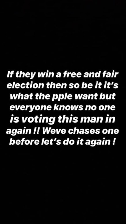 """I am confused why anyone will want to vote for Buhari again""- Davido"