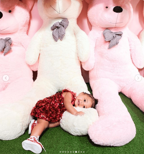 Kylie Jenner shares more photos from Stormi Webster