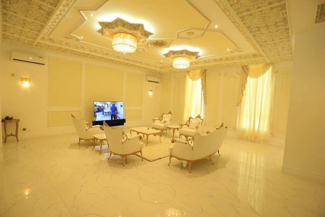 Photos: Check out the sprawling mansion deputy speaker of Delta state House of Assembly, Ossai Osanebi, just erected in the state