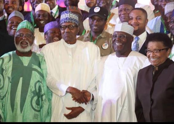 Buhari, Atiku, others sign second 2019 National Peace Accord