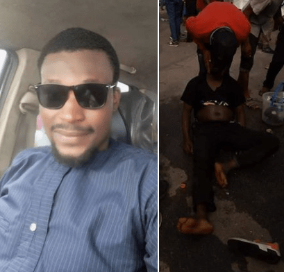 Man counted as dead in Rivers APC campaign rally regains consciousness (Photos)