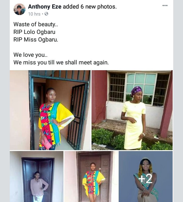 Photos: Nigerian beauty queen dies a month after her birthday