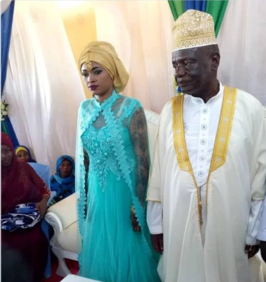 73-year-old politician marries 25-year-old woman (video)