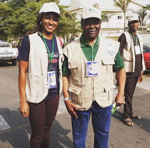 #NigeriaDecides: Tinubu, Falz, Toke Makinwa; 20?photos of your favorite politicians and celebrities at the polling booth