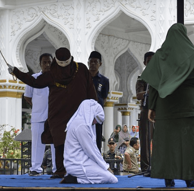 Women unable to walk after they were publicly flogged for having sex without being married