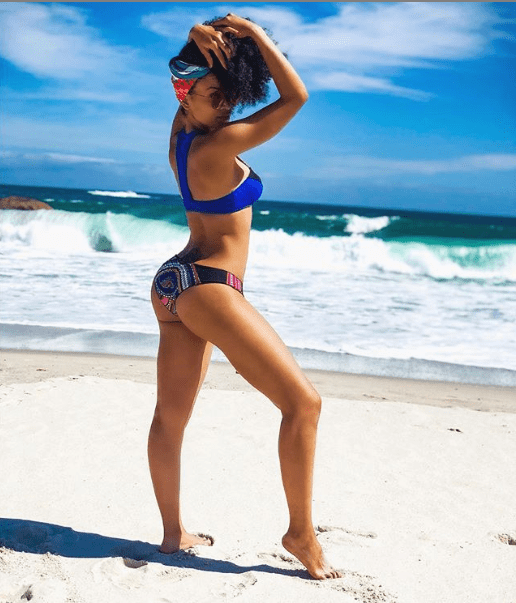 Actress, Pearl Thusi flaunts her hot body in new photo