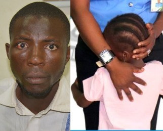 Photos: 5-year-old girl abducted in Warri, found in Nasarawa state