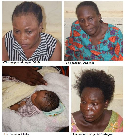 Photos: Two Lagos nurses arrested for selling couple