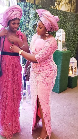 Omotola steps out in style with her daughter, Princess (photos)
