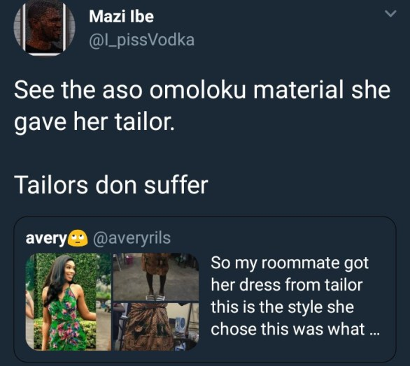 What she ordered vs what her tailor delivered