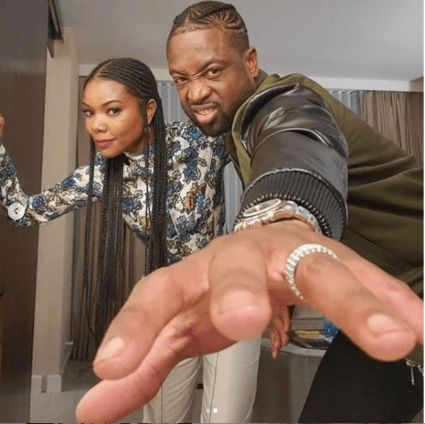 Gabrielle Union goofs around with her husband Dwyane Wade in new photos?