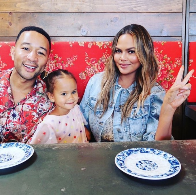 John Legend and Chrissy Teigen get similar tattoos and they