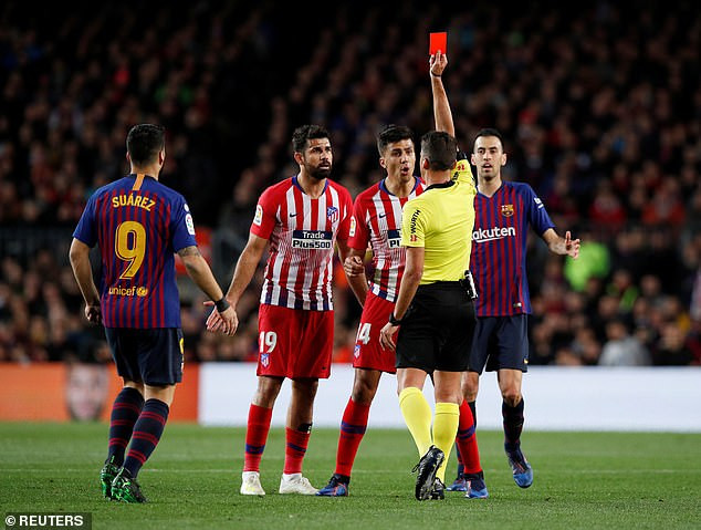 footballer Diego Costa handed eight match ban for insulting referee